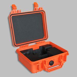 Koffer mit Polster  - im Peli-Case